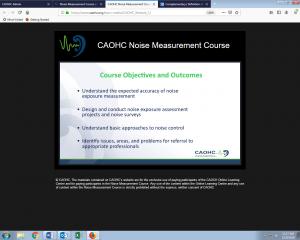 Noise Measurement Course graphic