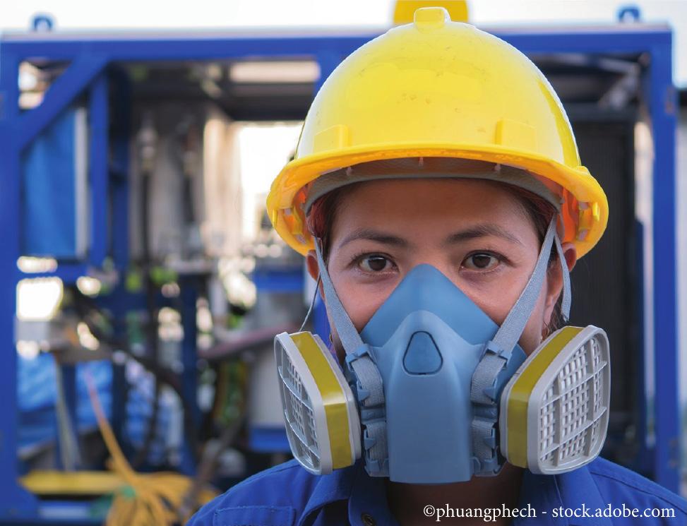 Respirators Stock Photo